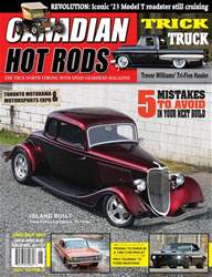 Canadian Hot Rods issue JUNE/JULY 2017