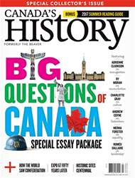 Canada's History issue Jun/Jul 2017