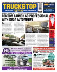 Truckstop News issue Issue no. 394 - TomTom launch Go Professional with Kuda automotive