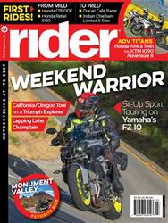 Rider Magazine issue Rider Magazine