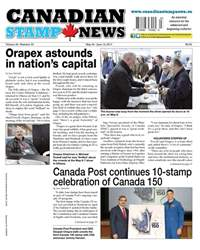 Canadian Stamp News issue V42#03 - May 30