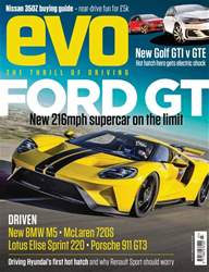 Evo issue July 2017