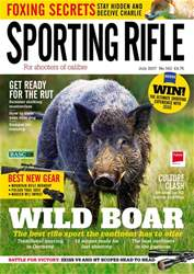 Sporting Rifle issue July 2017