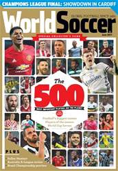 World Soccer issue June 2017