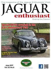 Jaguar Enthusiast issue Vol. 33 No. 6 Special XK150 coverage