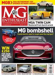 MG Enthusiast issue Vol. 47 No. 7 MG bombshell