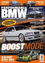 Performance BMW Magazine Cover