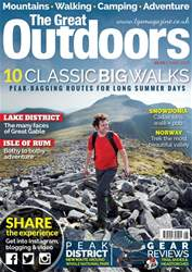 TGO - The Great Outdoors Magazine issue June 2017