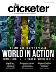 The Cricketer Magazine issue The Cricketer Magazine