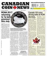 Canadian Coin News issue V55#05 - June 13