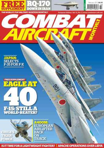 Combat Aircraft issue European Edition - Vol 13 No 2