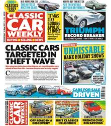 Classic Car Weekly issue 24th May 2017