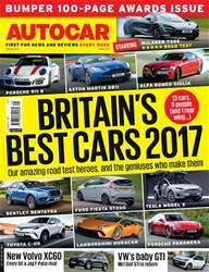 Autocar issue 24th May 2017