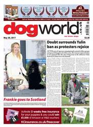 Dog World issue 26/05/2017