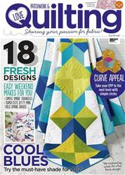 Love Patchwork & Quilting issue Issue 48