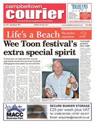 Campbeltown Courier issue 26th May 2017