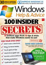 Windows Help & Advice issue June 2017