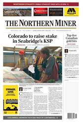 The Northern Miner issue Vol. 103 No. 11