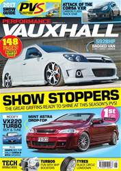 Performance Vauxhall issue Summer 2017