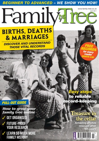 Family Tree issue Family Tree July 2017