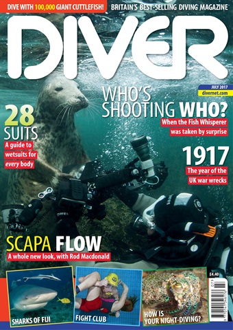 DIVER issue JULY 2017