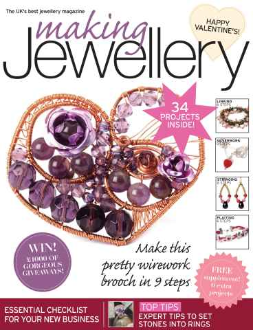 Making Jewellery issue February 2012
