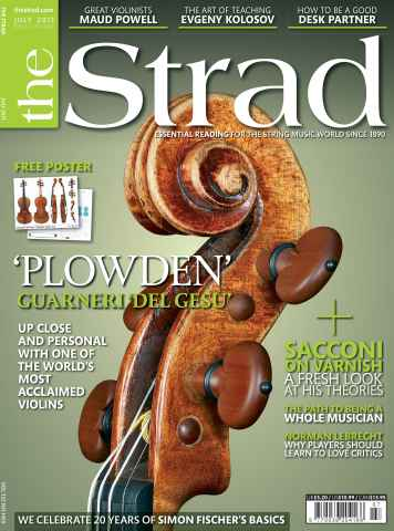 The Strad issue July 2011