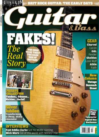 Guitar & Bass Magazine issue February 2012 Fakes