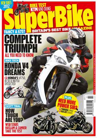 Superbike Magazine issue March 2012