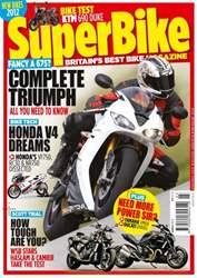 Superbike Magazine issue March 2012