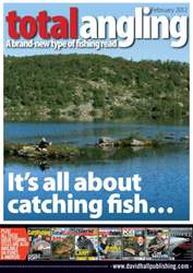 Total Angling issue February 2012