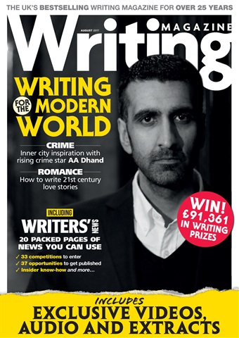 Writing Magazine issue August 2017