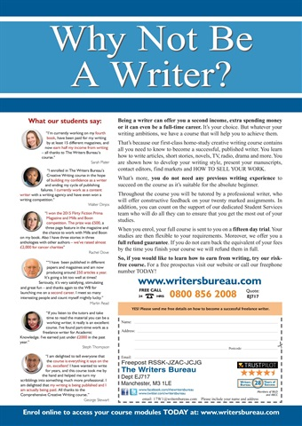 Writing Magazine Preview 27