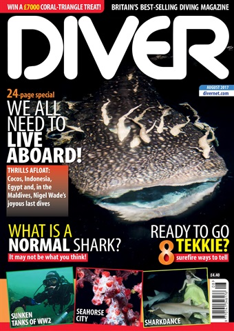 DIVER issue AUGUST 2017