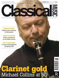 Classical Music issue Classical Music 14 January 2012