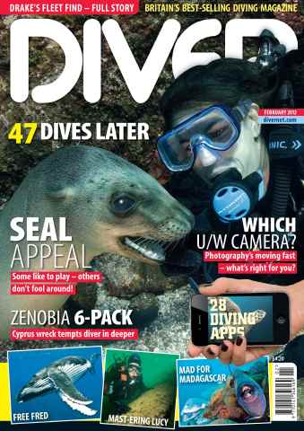 DIVER issue February 2012