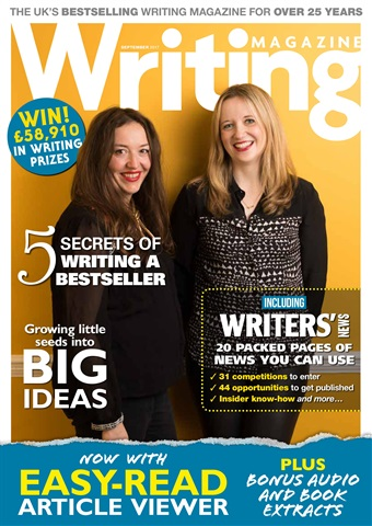 Writing Magazine issue September 2017