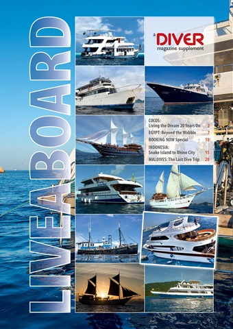 DIVER issue LIVEABOARD 2017 Supplement