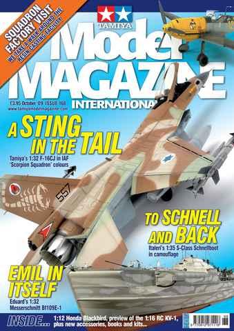 Tamiya Model Magazine issue 168