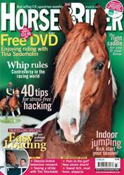Horse&Rider Magazine - UK equestrian magazine for Horse and Rider issue March 2012