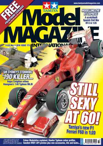 Tamiya Model Magazine issue 173