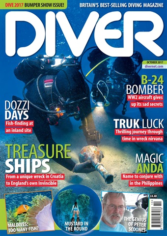DIVER issue OCTOBER 2017