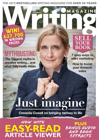 Writing Magazine issue November 2017