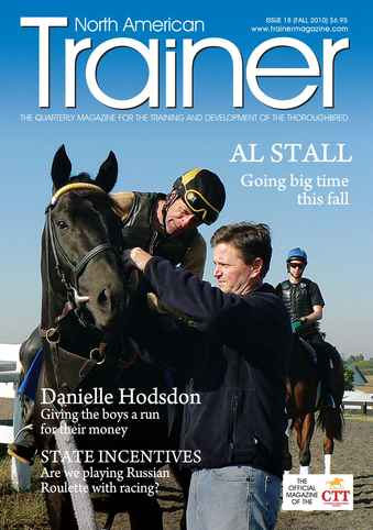 North American Trainer Magazine - horse racing issue 18