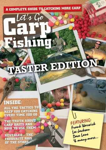 Fishing Reads issue Lets Go Carp Fishing - TASTER