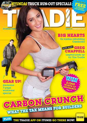 Tradie issue February 2012