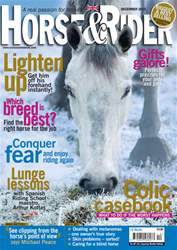 Horse&Rider Magazine - UK equestrian magazine for Horse and Rider issue December 2010