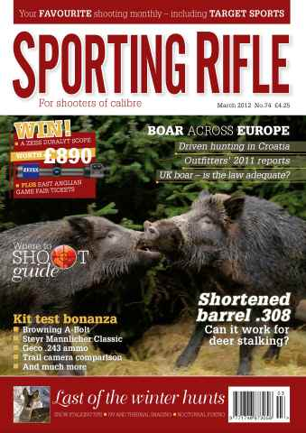 Sporting Rifle issue 74