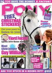 Pony Magazine issue December 2010