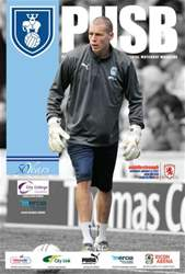 CCFC Official Programmes issue 16 v MIDDLESBROUGH (11-12)